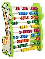 Wooden Frame Children Learn Arithmetic Toys Mathematics Teaching Aid Kindergarten Calculator JJ7701-0537