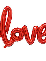 Big Size Love Letters Foil Balloon Romantic Mylar Lovely Balloons