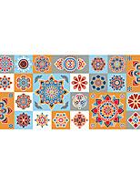 Mode Floral Forme Stickers muraux Autocollants avion Autocollants muraux décoratifs Matériel Décoration d'intérieur Calque Mural