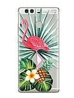 cheap -Case For Huawei P9 Huawei P9 Lite Huawei P8 Huawei Huawei P9 Plus Huawei P8 Lite Huawei Mate 8 P9 P10 Transparent Pattern Back Cover