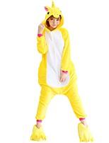 Kigurumi Pajamas Flying Horse Leotard/Onesie Shoes Festival/Holiday Animal Sleepwear Halloween Fashion Embroidered Flannel Fabric Cosplay
