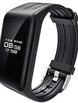 yy k1 smart Armband wasserdicht / Kalorien verbrannt Pedometer Übung Rekord Sport Herzfrequenz Monitor Touch für Iids Android