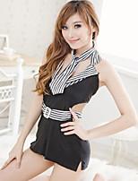 Ultra Sexy Uniformes & Tenues Chinoises Costumes Vêtement de nuit Femme,Sexy Couleur Pleine Polyester