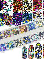 Glitter Sequins 3-D DIY Supplies Nail Salon Tool Hand Rests