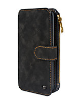 Estojo para samsung galaxy s8 s8 plus soft pu wallet de couro com capa de bolsa para cartão