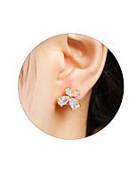 Women's Stud Earrings Rhinestone Geometric Zircon Geometric Jewelry For Wedding Party Halloween Daily Casual