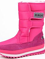 Mujer Zapatos Ante Tela Otoño Invierno Botas de nieve Botas hasta el Tobillo Botas Esquí Botines/Hasta el Tobillo Para Deportivo Amarillo