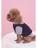 Hund Pullover Hundekleidung Lässig/Alltäglich Britisch Schwarz Rot