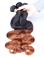 Ombre Hair Weaves Mongolian Texture Body Wave 12 Months Three-piece Suit hair weaves