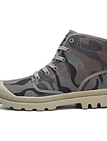 Women's Shoes PU Fall Winter Comfort Boots With For Outdoor Work & Safety Army Green Light Grey