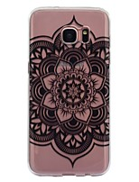 Case For Samsung Galaxy S8 Plus S8 IMD Transparent Pattern Back Cover Mandala Soft TPU for S8 S8 Plus S7 edge S7 S6 edge S6 S5