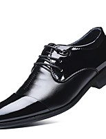 Men's Shoes TPU Fall Winter Formal Shoes Oxfords For Dress Office & Career Black