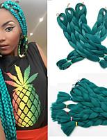 Jumbo Hair Braid Havana Crochet 100% kanekalon hair 100% Kanekalon Hair Medium Brown Yellow Green Blue White 24
