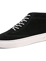 Da uomo Scarpe Felpato Primavera Autunno Comoda Sneakers Lacci Per Nero Beige Grigio