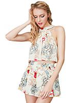 Maglietta Pantalone Completi abbigliamento Da donna Per eventi Per uscire Casual Serata Attivo Sensuale Moda città Estate Autunno,