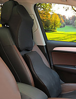 Automobile Kits de coussin de repose-tête et de taille Pour Universel Toutes les Années Appuie-tête de Voiture Cuir