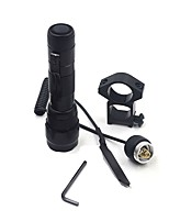 LED Flashlights/Torch LED 225 Lumens 1 Mode - 18650 Remote Control Easy Carrying Camping/Hiking/Caving Hunting