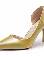 Women's Shoes Rubber Summer Comfort Heels Stiletto Heel Pointed Toe For Outdoor Blushing Pink Yellow Beige