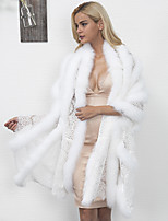 Women's Wrap Capes Faux Fur Wedding Party/ Evening Lace