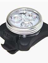 1pcs usb nachladbares einen.Kreislauf.durchmachenfahrradfahrrad 3led Kopf vordere hintere Endstückcliplichtlampe haed Licht / Rücklicht