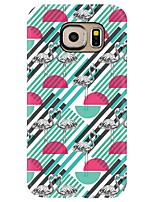 For Case Cover Pattern Back Cover Case Flamingo Geometric Pattern Soft TPU for Samsung Galaxy S8 Plus S8 S7 edge S7 S6 edge plus S6 edge