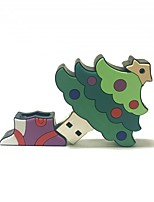 1GB Christmas USB Flash Drive Cartoon Creative Christmas Tree Christmas Gift USB 2.0