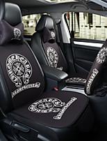 cromato cuoio sedile auto sedile cuscino sede sedile quattro stagioni generalmente circondato da un poggiatesta a cinque posti con 2 ruote