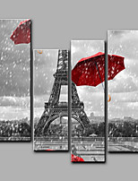 Stretched Canvas Print Four Panels Canvas Any Shape Print Wall Decor For Home Decoration