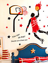People Sports Wall Stickers Plane Wall Stickers Decorative Wall Stickers,Vinyl Material Home Decoration Wall Decal