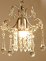 American Contracted Rural Art Crystal Droplight Single-Head Vestibule Corridor Bar Lamps And Lanterns Is Jane'S Creative Droplight