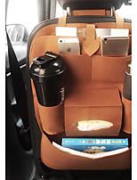 Sedile veicolo Organizer e portaoggetti per auto Per Universali Tutti gli anni Pelle