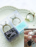 Key to My Heart Wedding Ring Keychain Beter Gifts®Wedding Favors 4.3 x 3.5 x 7.5 cm/box