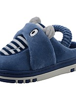 Boys' Shoes Velvet Winter Fur Lining Fluff Lining Slippers & Flip-Flops Pom-pom For Casual Navy Blue Brown Gray