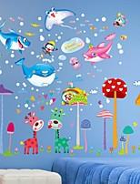 Fantasia Adesivos de Parede Autocolantes de Aviões para Parede Autocolantes de Parede Decorativos Material Decoração para casa Decalque