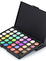 40 Lidschattenpalette Trocken Matt Schimmer Mineral Lidschatten-Palette Alltag Make-up Halloween Make-up Party Make-up Feen Makeup Cateye
