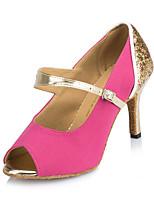 Da donna Balli latino-americani Brillantini Sandali Tacchi Sneaker Per interni Strass A stiletto Fucsia Blu 7,5 - 9,5 cm Personalizzabile