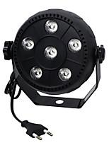 ywxlight® 3w eu plug haute puissance 18w led par lumière grand effet de teinture effet de scène avec contrôle du son pour ktv bar ac
