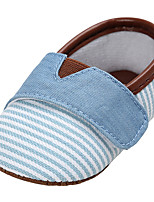 Baby Shoes Canvas Spring Summer Comfort Light Soles Flats For Casual Outdoor Khaki Light Blue Blushing Pink Dark Blue
