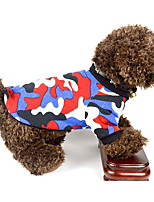 Dog Vest Dog Clothes Casual/Daily Geometric Green Red