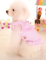 Hund Kleider Hundekleidung Lässig/Alltäglich Prinzessin Blau Rosa