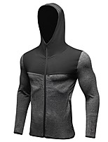 Men's Baselayer Long Sleeves Quick Dry Windproof Tracksuit Compression Clothing Sweatshirt for Running/Jogging Exercise & Fitness