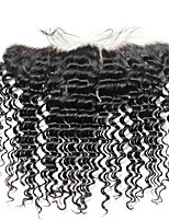 8inch-20inch Women Loose Deep Wave Ear to Ear 13x4''Lace Frontal Closure with Baby Hair