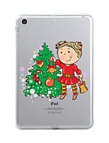 For iPad (2017) Case Cover Transparent Pattern Back Cover Case Transparent Christmas Soft TPU for Apple iPad (2017) iPad Pro 12.9'' iPad