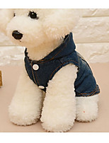 Dog Vest Dog Clothes Casual/Daily Solid