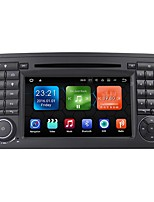 Android 7.1.2 Auto Dvd-Player Multimedia-System 7-Zoll-Quad-Cit Wifi Ex-3G Dab für Mercedes Benz ml Klasse W164 2005-2012 We7083