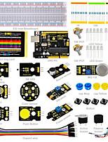 Keyestudio Sensor Kit- K3 for Arduino Starter Kit with Arduino UNO R3DHT11DS32313W LEDColor Senson/19 Projects