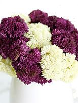 hydrangea aberdeen fruit fleurs d'hydrangea fleur de simulation pour mobilier de mariage 5 branches