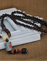 Жен. Ожерелья с подвесками В форме короны Серебрянное покрытие Мода По заказу покупателя Бижутерия Назначение Повседневные