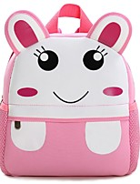 Kids Bags All Seasons Nonwoven Backpack Zipper for Casual Green Blushing Pink Yellow Coffee