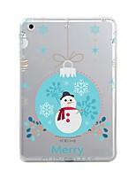 For iPad (2017) iPad 10.5 iPad Pro 12.9'' Case Cover Transparent Pattern Back Cover Case Christmas Soft TPU for Apple iPad pro 10.5 iPad